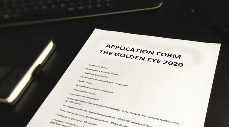 "Submissions are open for ""The Golden Eye"" 2020!"